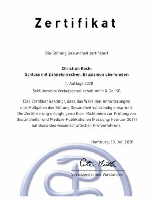 Christian Koch: Schluss mit Zähneknirschen! (Buch, Softcover)