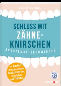 Cover Schluss mit Zähneknirschen inkl. Siegel Stiftung Gesundheit