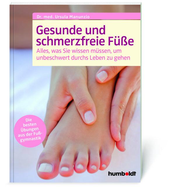 Coverabbildung Manunzio, Gesunde und schmerzfreie Füße